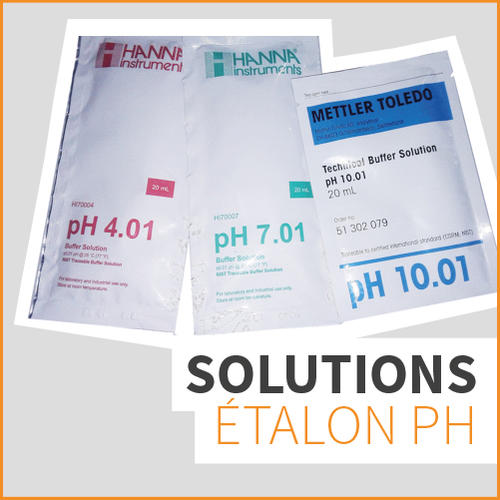 SOLUTIONS ÉTALON pH