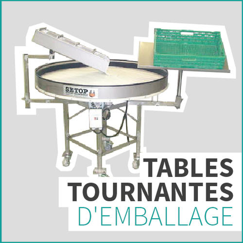 ROTARY RY120 TABLES TOURNANTES D'EMBALLAGE